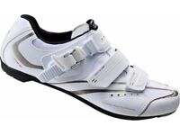 (2113) SHIMANO SH-WR42 GIRLS WOMENS ROAD BIKING SHOES Size:UK 2, EUR 36