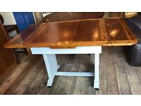 Shabby Chic Painted Draw Leaf Table