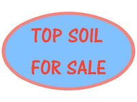 QUALITY TOPSOIL. Delivery Available. /. Screened.