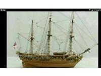 MODEL SHIP / BOAT ROYAL CAROLINE