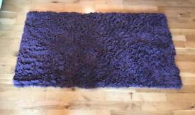 Beautiful next purple rug