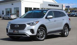 2017 Hyundai Santa Fe XL LIMITED! 7-SEATER! LEATHER! NAV! SUNROO