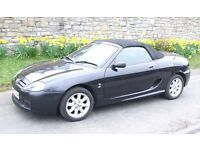 MG TF 2003 1600cc in charcoal ideal for spring/summer. MOT to August. Engine works done & new clutch