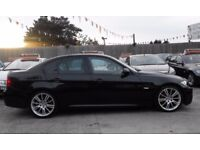✅BMW 3 SERIES M SPORT 2006-56 BLACK❗️12MONTHS MOT❗️FULL SERVICE HISTORY WITH LOADS INVOICES RECEIPTS