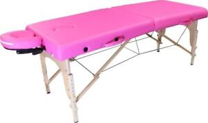 ALL NEW IN BOX > CALGARY WAREHOUSE > PINK Massage Table Bed