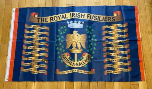 Royal Irish Fusiliers Regimental Colours Army British GB UK
