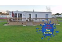 Willerby Chambery (2014) 35 x 13 2 Bed Holiday Home sited at blackadder holiday park Greenlaw