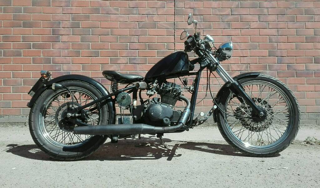 125 Learner legal bobber - SINNIS HEIST