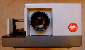 Leitz Pradovit RC 35mm Slide Projector with Colorplan 90mm f/2.5 Mint & Boxed