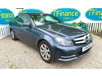 Mercedes-Benz C220 2.1 CDI Executive SE Coupe, 2013, Automatic - £77 PER WEEK - CAR IS £10995