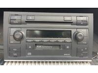 Audi a4 b7 stereo (cd & tape aux)