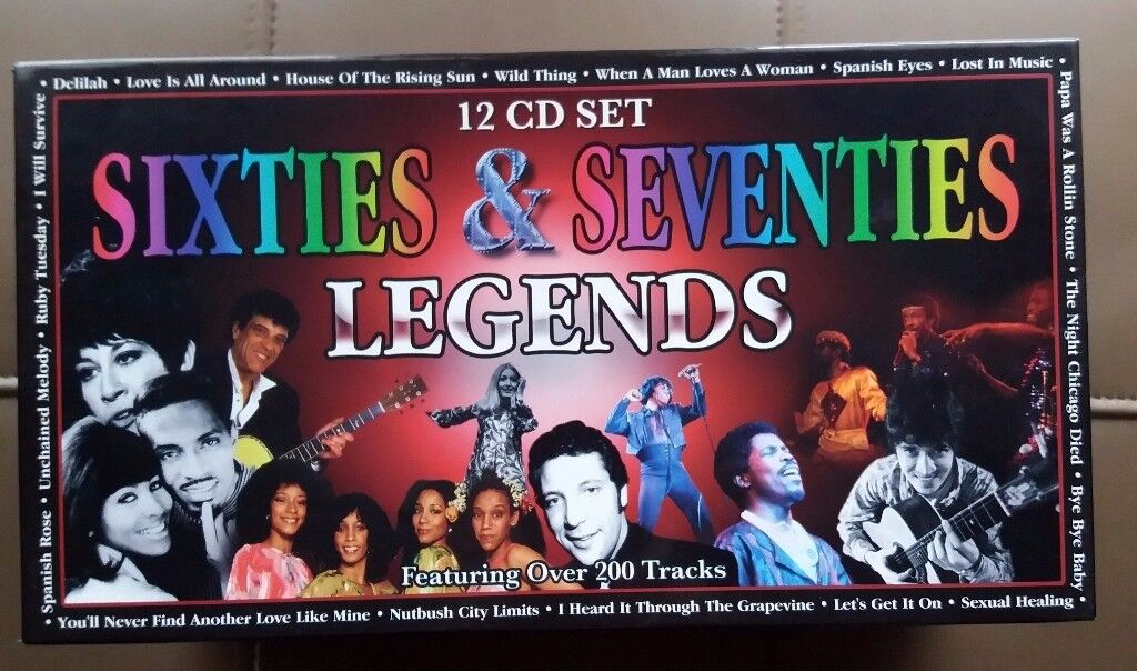 12 CD Set - Sixties and Seventies Legends