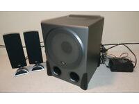 Cyber Acoustics CA-3550 3-Piece Computer Surround Sound Speaker System