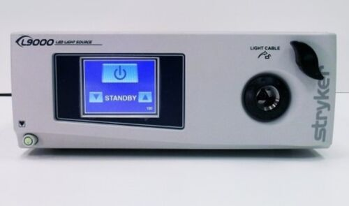 STRYKER L9000 ENDOSCOPE LIGHT SOURCE, PN 220-210-000, TESTED, 30-DAY WARRANTY
