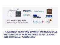 FROM £12.5 perHour - EXPERIENCED AND PROFESSIONAL SPANISH TUTOR - ALL LONDON - SPANISH TEACHER