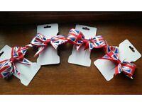 Royal wedding clip bows