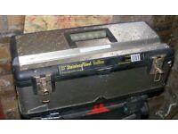 "23"" Stainless Steel Toolbox (Lockable)"