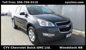 2012 Chevrolet Traverse LS FWD 8 Passenger - $10/Day
