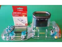 Canon WP-DC21 Waterproof Case For PowerShot G9 & WW-DC1 Weights
