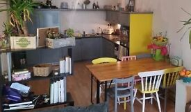 Spacious arty home office / desk space available for hire during the day