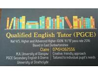 Qualified English Tutor
