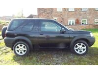 LAND ROVER FREELANDER 1.8 PETROL 4X4 TOW BAR 53 REG LOW MILEAGE REMOVABLE ROOF