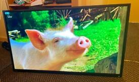 """Toshiba 48"""" led tv hdmi usb media comes with wall bracket can deliver."""