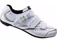 (2113) SHIMANO SH-WR42 GIRLS WOMENS ROAD BIKING SHOES Size:UK 2, EUR 36