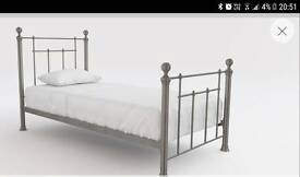 Next double metal frame bed