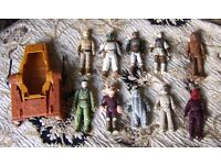Collection of Vintage Star Wars Figures (1977-1984) - Swap for SNES/Snes Games