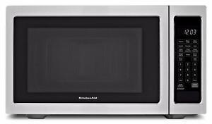 Four à micro-ondes 22'' acier inoxydable, Kitchen Aid