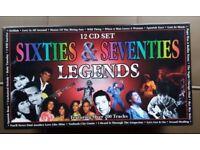 12 CD Box Set - Sixties and Seventies Legends