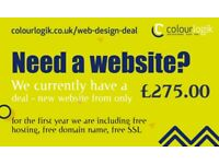 Freelance Web Design Deal | £275.00 package | e-commerce Websites | Responsive | Bournemouth