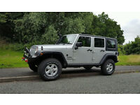 2009 JEEP WRANGLER 2.8 CRD SPORT UNLIMITED SILVER 4x4