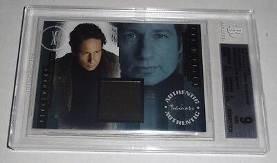 X-Files I Want to Believe Pieceworks Shown Worn Item BGS 9 Mint Card IWTB 2008
