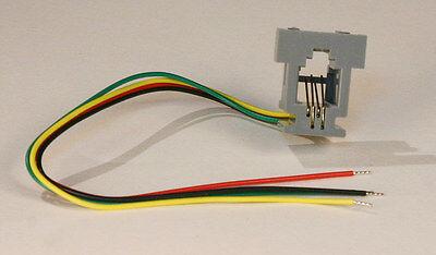 Modular Jack - 4 conductor - RJ14 - 4P4C 4 Conductor Modular Jack