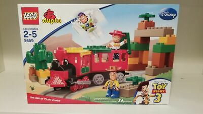 NEW Lego Duplo 5659 Disney Toy Story 3 The Great Train Chase FACTORY SEALED