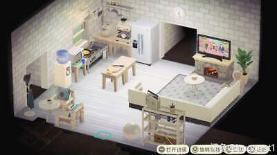 Animal Crossing New Horizons Light Color Living room Furniture Set 50 Pieces
