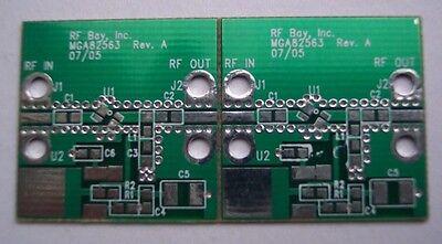 Develop Pcb Agilent Mmic Amplifier Mga-81563 Or Mga-82563 2pcs