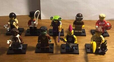 lego minifigures from series 2-5 8684 8803