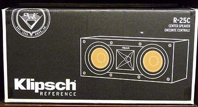 Klipsch R-25C Reference Center Speaker (Black)