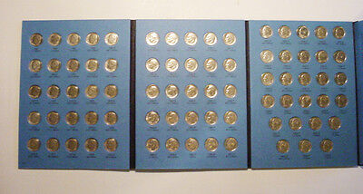 1965 TO 2004 P&D CIRCULATED ROOSEVELT DIMES  IN NEW WHITMAN FOLDER