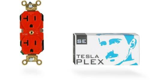 Synergistic Research Tesla Plex SE Duplex Receptacle Outlet
