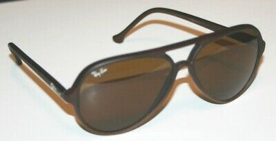 Ray-Ban Cats Sunglasses Matte Brown W/Brown Lens - Used W/Case