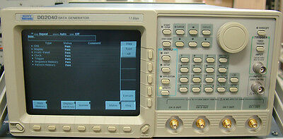 Tektronix Dg2040 Data Generator
