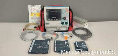 Zoll M Series Cct Biphasic 3 Lead Ecg Spo2 Nibp Aed Pace Case Patient Monitor