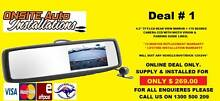 REVERSE CAMERA AND REAR VIEW MIRROR SYSTEMS - SYDNEY WIDE Parramatta Parramatta Area Preview