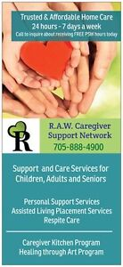 Free Programs.Affordable Personal Support&Respite 24/7 CareLine