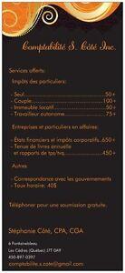Services comptables professionnels - Impôts personnels et plus! West Island Greater Montréal image 3
