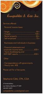 Professional accounting services - Corporate taxes and more! West Island Greater Montréal image 3